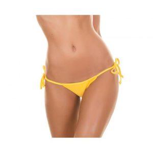 Bikini Tanga gelb - Calcinha Ipe Micro