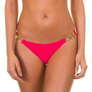 Bikini Höschen, dunkelrosa, mit Ringen - Frutilly Trio