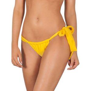 Brasilianisches Bikinihöschen Gelb, anpassbar - Ipe Lace