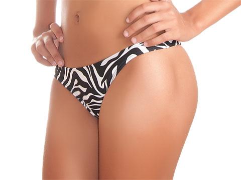 Bikini Slip Zebra - Calcinha Mucuge