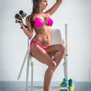 Brasilien Bikini rosa - Calcinha