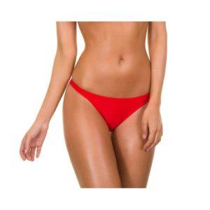 Bikini Brasilien Slip rot - Red Basic
