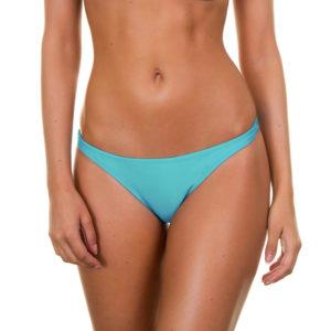 Bikinihöschen Tahitiblau, mit Beinausschnitt - Tahiti Basic