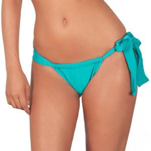 Bikini Slip Tahitiblau, verstellbar - Tahiti Lace