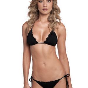 Micro Bikini schwarz, mit Herz als modisches Detail - Mini Corazon Black
