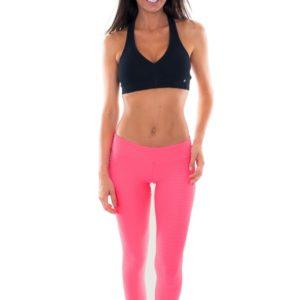 Rosa Fitness Leggings - Leg Kraft Euforia