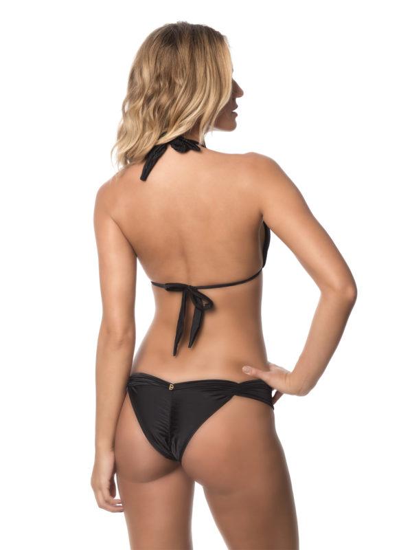 Schwarzer Triangel Bikini mit schalförmigen Oberteil - DESPI