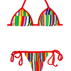 String Bikini bunt