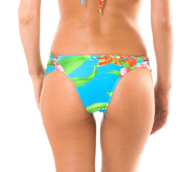 Enges blau geblümtes Bikini-Unterteil - Rio de Sol