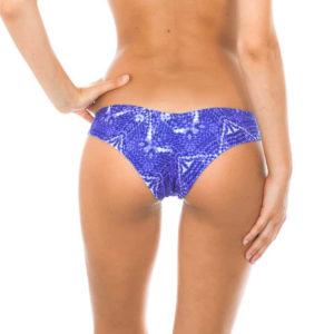 Brasil Bikinihöschen Sport Günstig Jeansblau - Rio de Sol