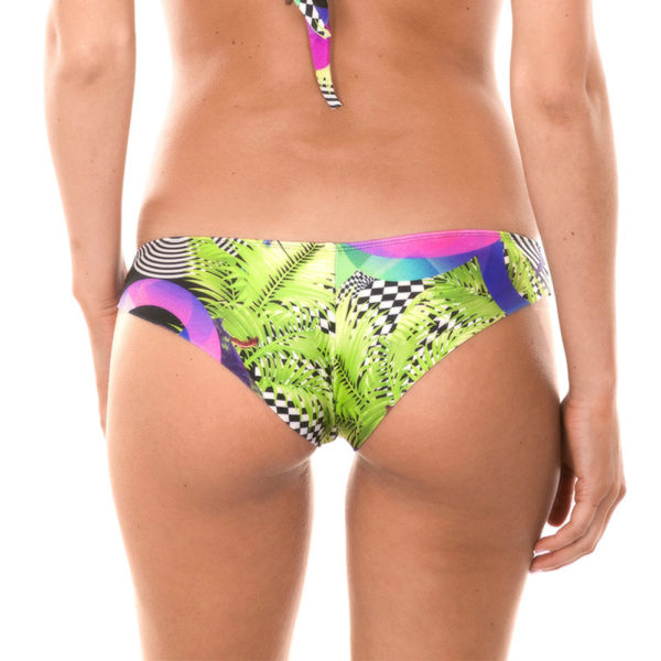 Brasilianischer sportlicher Bikinislip gemustert - Rio de Sol