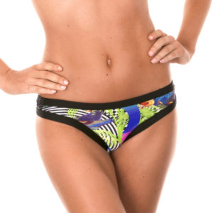 Gemustertes Bikinihöschen Sport Tropical - Calcinha Bossa Cropped
