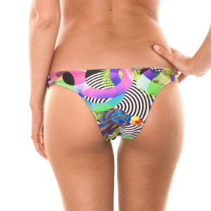 Fester Bikini-Tanga Tropical - Calcinha Bossa Shoulder
