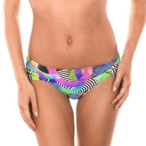 Gemusterte Bikinihose mit breiten Seiten Tropical - Calcinha Bossa Shoulder Hipster