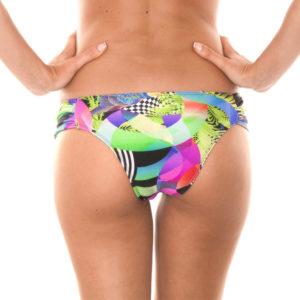 Gemusterte Bikinihose mit breiten Seiten - Sexy - Calcinha Bossa Shoulder Hipster