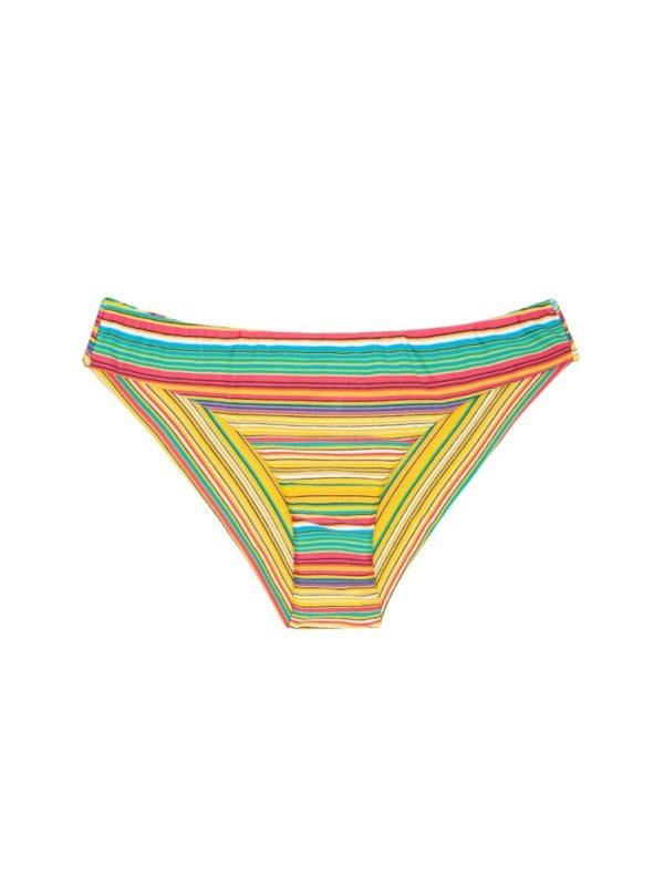 Buntgestreifte sportliche Brasil Bikinihose - Rio de Sol