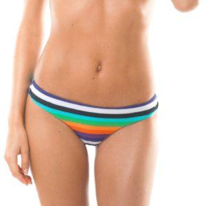 Buntgestreifte Brasil Bikinihose - Calcinha Tepego Sporty