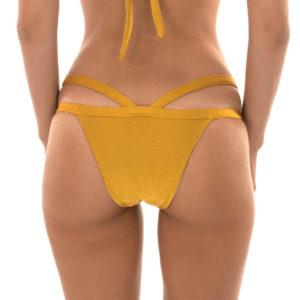 Brasilianischer Bikinislip mit doppelten Bändern - Rio de Sol