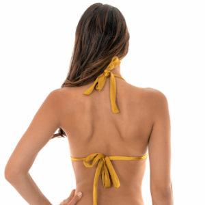 Verstellbares Bikini Triangel-Top mit Faltenoptik - Rio de Sol