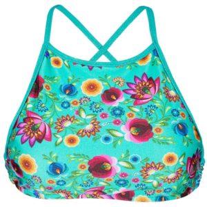 Geblümtes Bade Bikini-Top mit Kreuzträgern - Rio de Sol