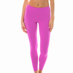 Uni rosa Fitness Leggings - Leg Nz Glam