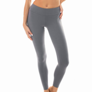 Uni graue Fitness Leggings - Leg Nz Gris