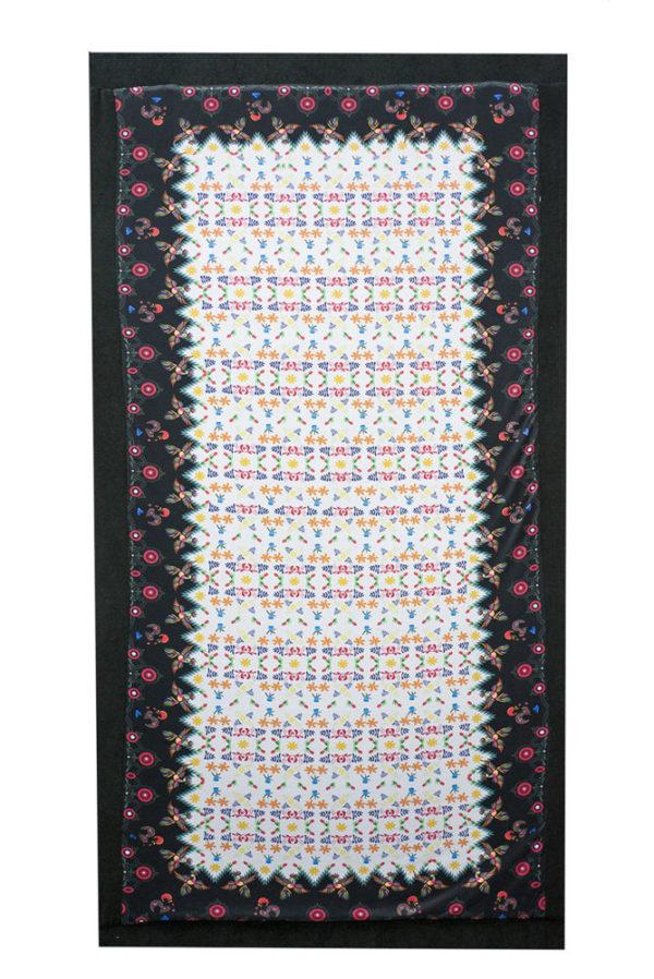 Velours-farbenfrohes Wende Strandtuch - Magic Carpet Floral