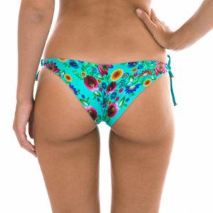 Sexy Bikinihose, geblümt mit Lurexschnur - Calcinha Bloom Balconet
