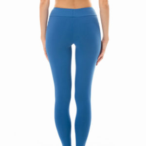 Uni Denimblaue Fitness-Legging - Leg Nz Alpes