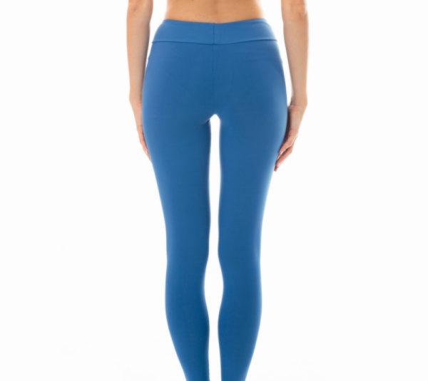 Uni Denimblaue Fitness-Legging - Leg Nz Alpes