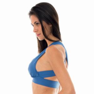 Blaues sportliches Bikinioberteil - Rio de Sol
