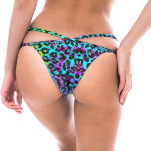 Strappy Bikinihose mit Leopardenmuster - Sexy Bikini String