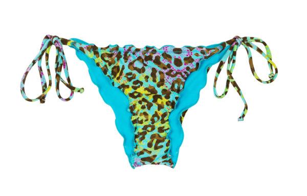 Scrunch Bikinihose mit Leopardenmuster - Rio de Sol