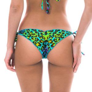 Scrunch Bikinihose mit Leopardenmuster - Sexy Bikinislip