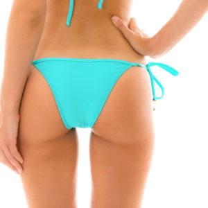 Brasilianisches sexy Bikinihöschen Cyan