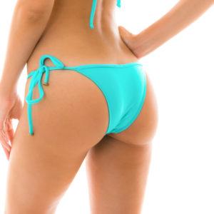 Brasilianisches Bikinihöschen Cyanblau - Bottom Piscina Tri