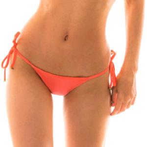 Lachsfarbener Bikini String zum Knoten - Bottom Tabata Micro