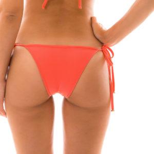 Lachsfarbener sexy Bikinislip