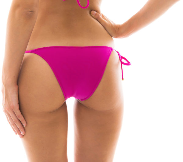 Fuchsienfarbenes Bikinihöschen mit Seitenschnüren - Rio de Sol