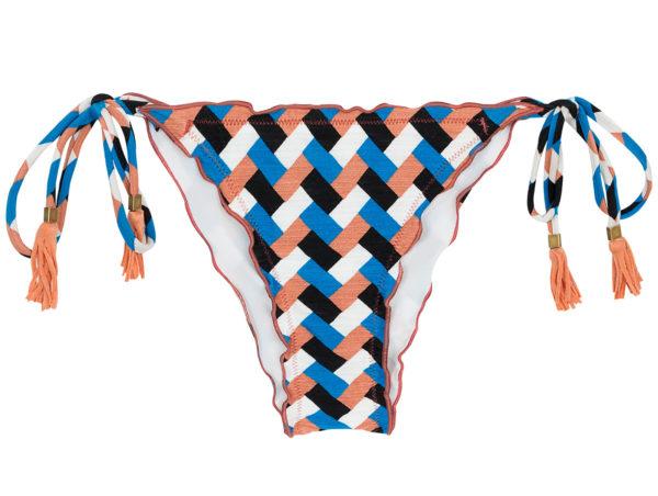 Bikiniunterteil mit grafischem Muster - Rio de Sol