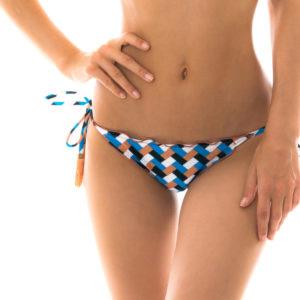 Bikiniunterteil mit grafischem Muster - Bottom Geometric Frufru