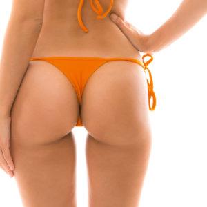 String Bikinihöschen Orange mit Accessoires - Rio de Sol