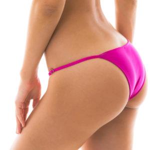 Sexy verstellbare brasilianische Bikinihose rosa