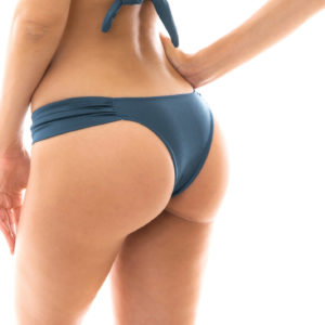 Sexy und sportlich - Fixer Badetanga schieferblau