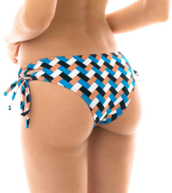 Brasilianisches sexy Höschen bunt kariert