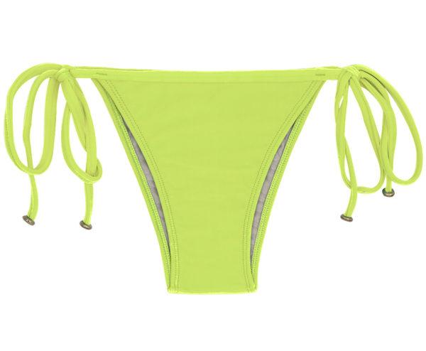 Bikinihöschen limonengrün mit Accessoires