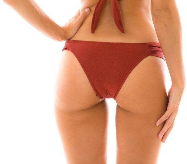 Fixer Sexy Badetanga ziegelrot glänzend