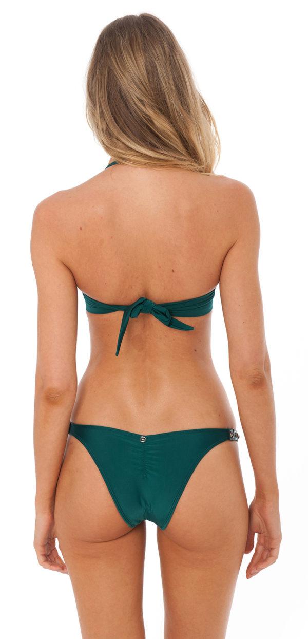 Grüner Bikini mit Accesoires - Despi
