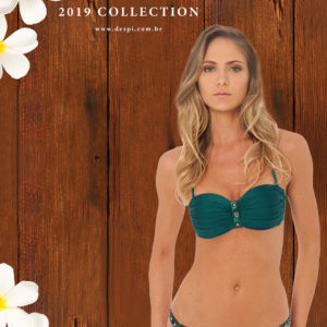 Sexy Bikini grün mit Accesoires - Despi