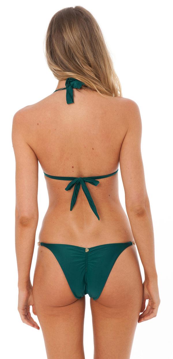 Grüner Bikini mit Perlen - DESPI